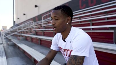 SPEED CITY EXTRA: Kahmari Montgomery's First Time Meeting Carl Lewis