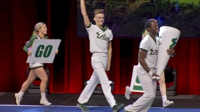 University of South Florida [2020 Cheer Division IA Finals] 2020 UCA & UDA College Nationals