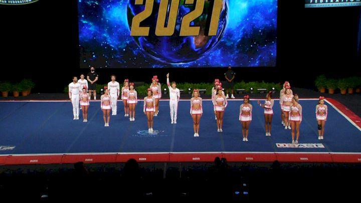 Infinity Allstars - Royals [2021 L6 International Open Small Coed Finals] 2021 The Cheerleading Worlds