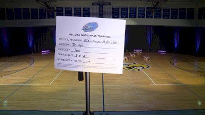 Eisenhower High School [Junior High - Jazz] 2021 UDA National Dance Team Championship