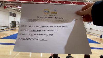 Farmington High School [Game Day JV] 2021 UCA February Virtual Challenge