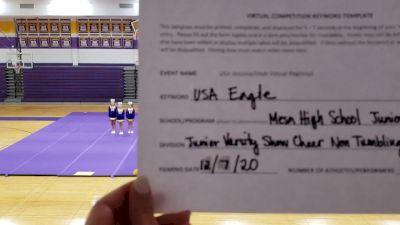 Mesa High School [JV Show Cheer Non Tumbling Novice] 2020 USA Arizona & Utah Virtual Regional