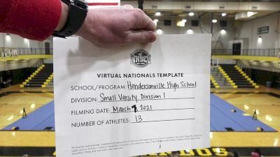 Hendersonville High School [Small Varsity Division I Virtual Semi Finals] 2021 UCA National High School Cheerleading Championship