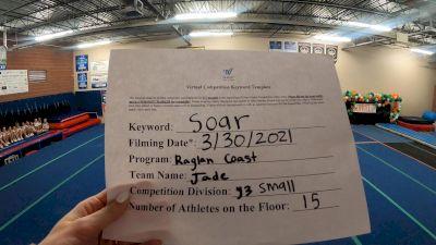 Raglan Coast Cheer - Jade [L3 Youth] 2021 The Regional Summit Virtual Championships
