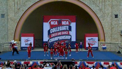 Texas Tech University [2021 Advanced Large Coed IA Prelims] 2021 NCA & NDA Collegiate Cheer & Dance Championship