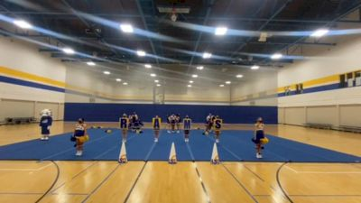 Angelo State University [College - College Situational Sideline/Crowdleading Cheer] 2021 USA Virtual West Coast Spirit Championships