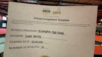 Assumption High School [Small VA DII Small Varsity] 2021 UCA & UDA March Virtual Challenge