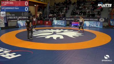 65 kg Final - Yianni Diakomihalis, USA vs James Green, USA
