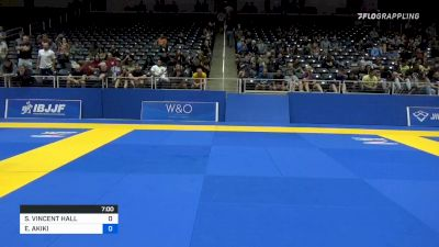 STEPHEN VINCENT HALL vs ELIAS AKIKI 2021 World IBJJF Jiu-Jitsu No-Gi Championship