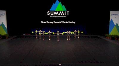 Fierce Factory Dance & Talent - Destiny [2021 Youth Pom - Small Finals] 2021 The Dance Summit
