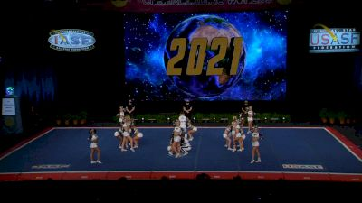 CheerVille Athletics HV - Anarchy [2021 L6 Senior Open Small Coed Finals] 2021 The Cheerleading Worlds