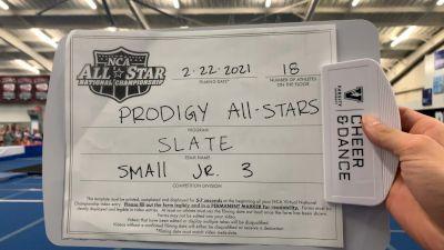 Prodigy All-Stars - Slate [L3 Junior - Small - A] 2021 NCA All-Star Virtual National Championship