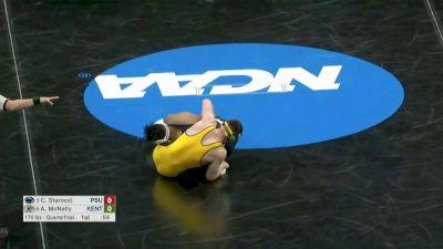 174 Quarterfinal, Carter Starocci, Penn State vs Andrew McNally, Kent