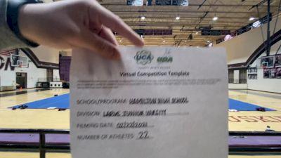 Hamilton High School [Large Junior Varsity] 2021 UCA February Virtual Challenge