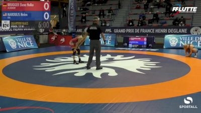 57 kg Quarterfinals: Helen Maroulis vs Elena Heike Brugger (Germany)
