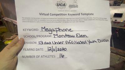 Moniteau High School [Traditional Open Rec Affiliated 12U] 2020 UCA Empire Virtual Regional