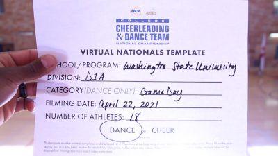 Washington State University [Virtual Division IA Game Day - Dance Finals] 2021 UCA & UDA College Cheerleading & Dance Team National Championship