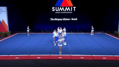 The Stingray Allstars - Beach [2021 L4 Senior Coed - Small Semis] 2021 The Summit