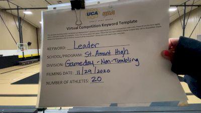 St Amant High School [Game Day Varsity - Non-Tumble] 2020 UCA Louisiana Virtual Regional