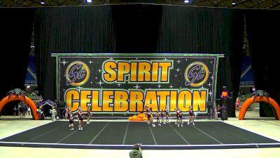 Competitive Sports Complex - Raiders Scarlett - Infinity [L3 Junior] 2021 Spirit Celebration Halloween Challenge