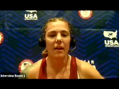 Jackie Cataline (76 kg) after her retirement after the 2021 Olympic Trials