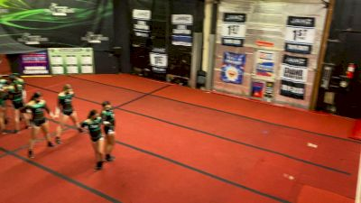 Envy All Stars - Electric [L3 Junior - D2 - Small] 2021 PacWest Virtual Championship