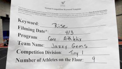 Core Athletix - Jazzy Gems [L1 Tiny] 2021 The Regional Summit Virtual Championships