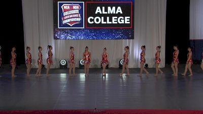 Alma College [2021 Team Performance Division III Prelims] 2021 NCA & NDA Collegiate Cheer & Dance Championship