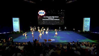 Live Oak Junior High School [2020 Small Junior High Prelims] 2020 UCA National High School Cheerleading Championship