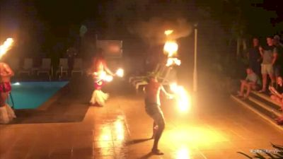 Eagles Meet Firedancers In Fiji