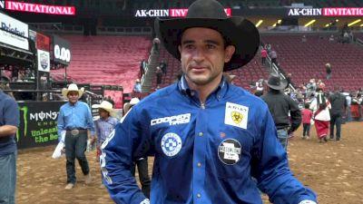 'Keep Going Cowboy' - Joao Ricardo Veiera On Winning Ride In Glendale