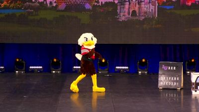 """Liberty University - """"Sparky"""" [2019 Mascot Division IA Finals] UCA & UDA College Cheerleading and Dance Team National Championship"""