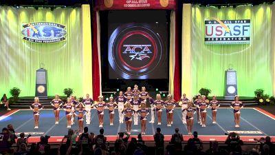 Spirit of Texas - Royalty [2019 L5 Senior Medium Coed Semis] 2019 The Cheerleading Worlds