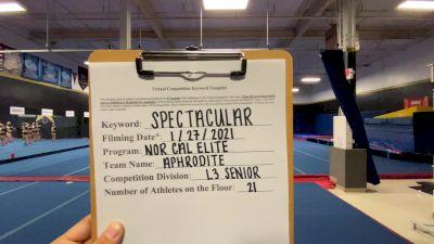 Nor Cal Elite All Stars - San Ramon - Aphrodite [L3 Senior] 2021 ATC International Virtual Championship