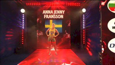 68 kg Finals A. FRANSSON (SWE) v. Tamyra MENSAH (USA)