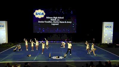 Salmen High School [2020 Small Varsity Coed Non Tumbling Finals] 2020 UCA National High School Cheerleading Championship