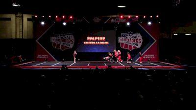 Empire Cheerleading Inspire Black [2020 CheerABILITIES Day 1] 2020 NCA All-Star Nationals