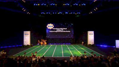West Nassau High School [2020 Junior Varsity Non Tumbling Game Day Finals] 2020 UCA National High School Cheerleading Championship