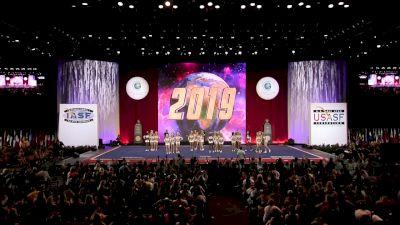 Woodlands Elite - OR - GI Janes [2019 L5 Senior Medium All Girl Finals] 2019 The Cheerleading Worlds