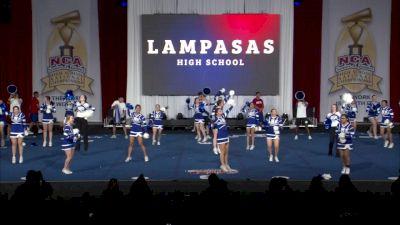 Lampasas High School [2019 Spirit Program Finals] NCA Senior & Junior High School National Championship