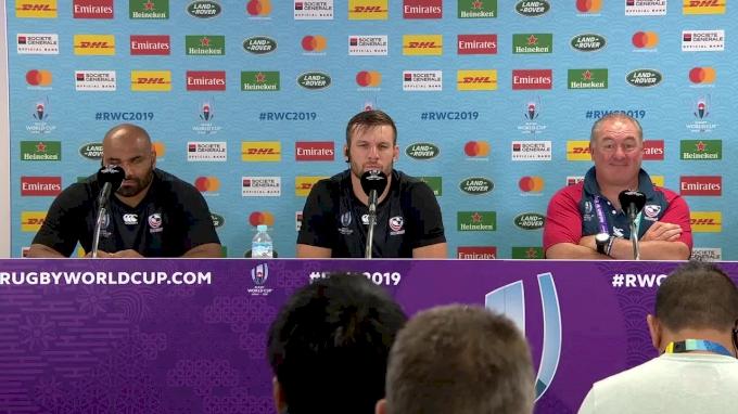 USA PreGame Press Conference vs England