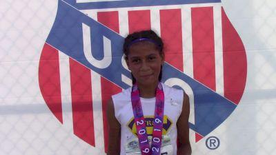 Kylee Turner Earns 3000m Victory