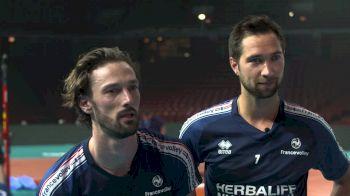 Superlatives With France's Wing Spikers Julien Lyneel And Kevin Tillie
