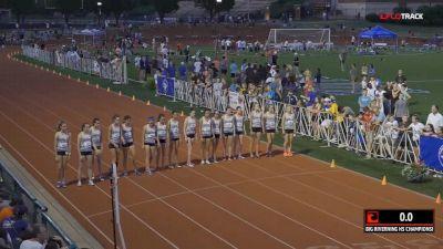 Big River Running High School Girls' Championship Mile