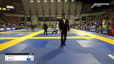 CILLIAN BETTS vs TREVOR MILLER 2019 Pan Kids Jiu-Jitsu IBJJF Championship