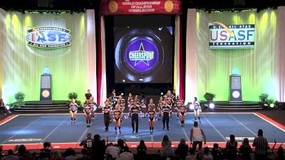 Rockstar Cheer - The Beatles [2019 L5 Senior Open Small Coed Finals] 2019 The Cheerleading Worlds