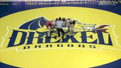 165 - Tyler Barnes (NC State) vs Michael Manley (Drexel)