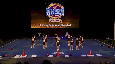 St Michael the Archangel High School [2020 Medium Varsity Non Tumbling Prelims] 2020 UCA National High School Cheerleading Championship