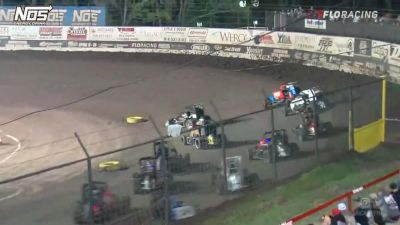 Highlights | USAC Midgets Saturday at Port City