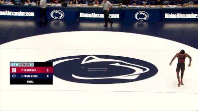 141 Nick Lee, Penn State vs Chad Red, Nebraska